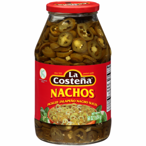 La Costena Pickled Jalapeno Nacho Slices Perspective: front