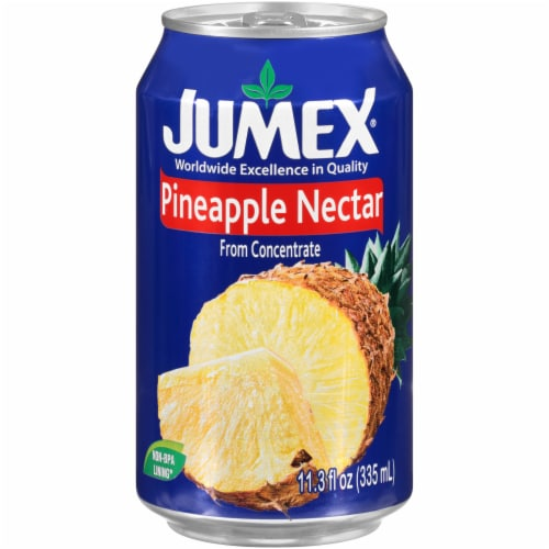 Jumex Pineapple Nectar Juice Perspective: front