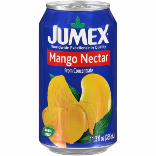 Jumex Mango Nectar from Concentrate Perspective: front