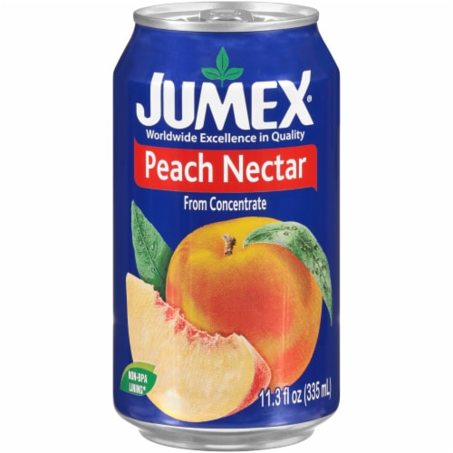 Jumex Peach Nectar Perspective: front