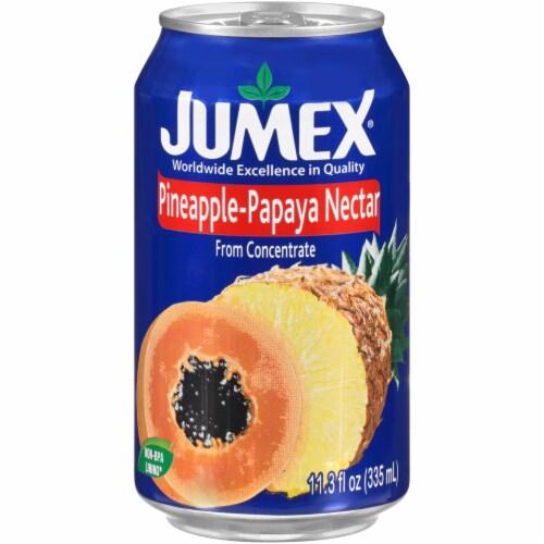 Jumex Papaya Pineapple Nectar Juice Perspective: front