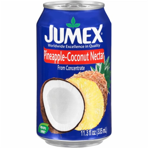 Jumex Coconut Pineapple Nectar Juice Perspective: front