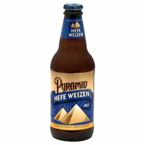 Pyramid Hefeweizen Ale Perspective: front