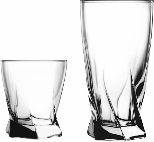 Anchor Hocking Glass Drinkware Set Perspective: front