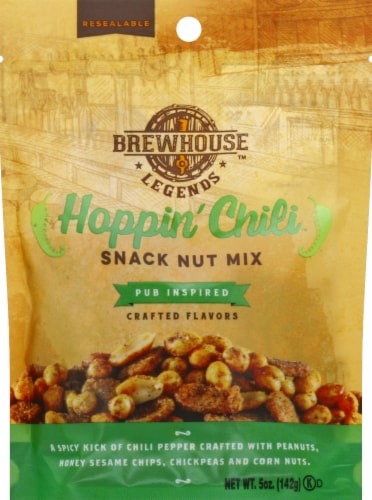 Brewhouse Legends Hoppin Chili Snack Nut Mix Perspective: front