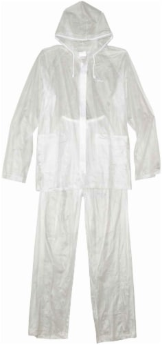 Coleman Lightweight PVC Rain Suit - Clear - Extra Large Perspective: front