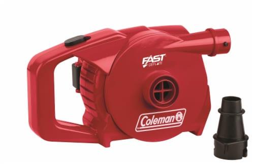 Coleman 4D QuickPump Airbed Pump - Red Perspective: front
