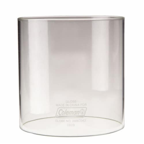 Coleman® Clear Lantern Globe Perspective: front