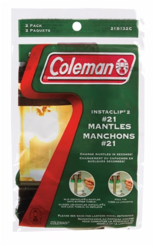 Coleman® Insta-Clip® #21 Mantles - 2 Pack Perspective: front