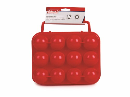 Coleman Plastic Egg Container Perspective: front