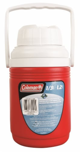 Coleman Jug Beverage Cooler - Red Perspective: front