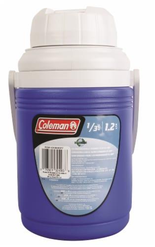 Coleman Beverage Cooler - Blue Perspective: front