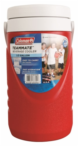 Coleman Beverage Cooler - Red Perspective: front