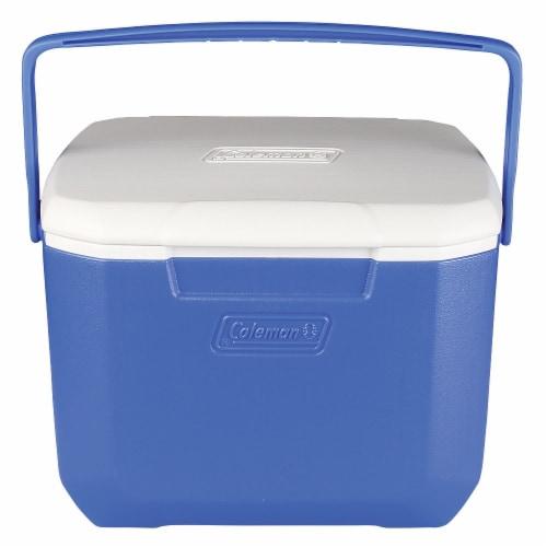 Coleman Excursion Cooler - Blue Perspective: front