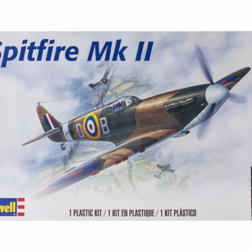Plastic Model Kit-Spitfire MKII 1:48 Perspective: front