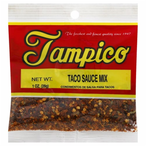 Tampico Taco Sauce Mix Perspective: front