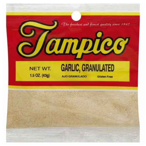 Tampico Granulated Garlic Perspective: front