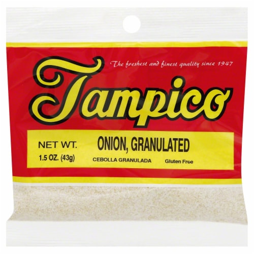 Tampico Granulated Onion Perspective: front