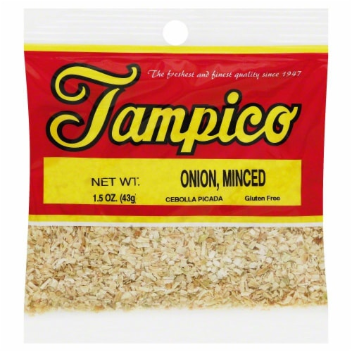 Tampico Minced Onion Perspective: front