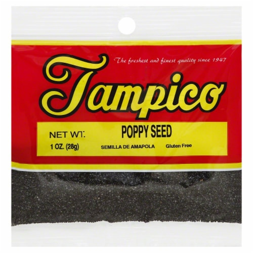 Tampico Poppy Seed Perspective: front