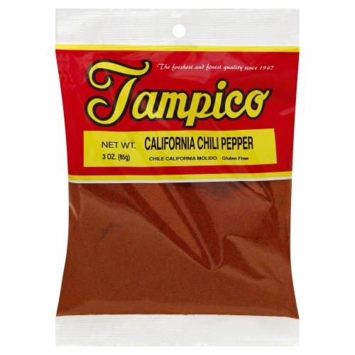 Tampico California Chili Pepper Perspective: front