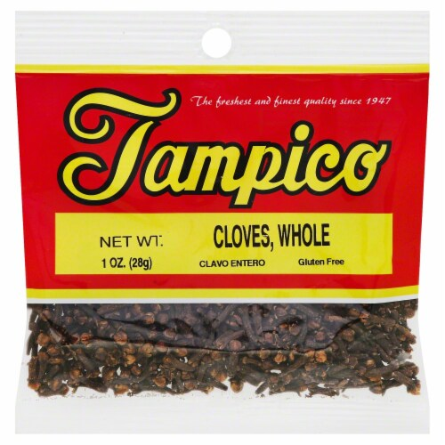 Tampico Cloves Whole Perspective: front