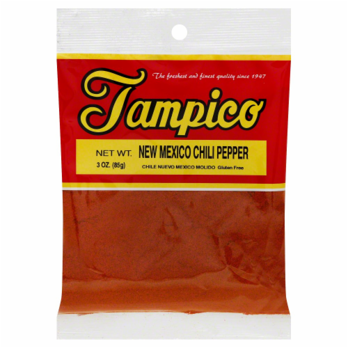 Tampico New Mexico Chili Pepper Perspective: front