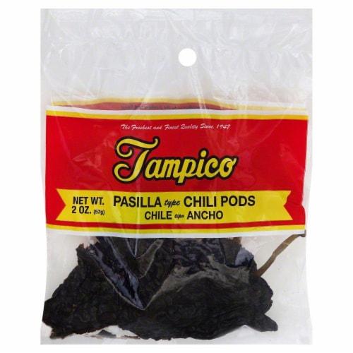Tampico Pasilla Chili Pods Perspective: front