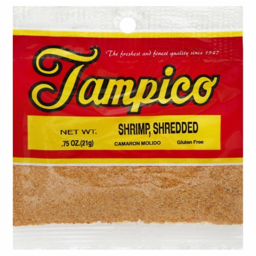 Tampico Shredded Shrimp Perspective: front