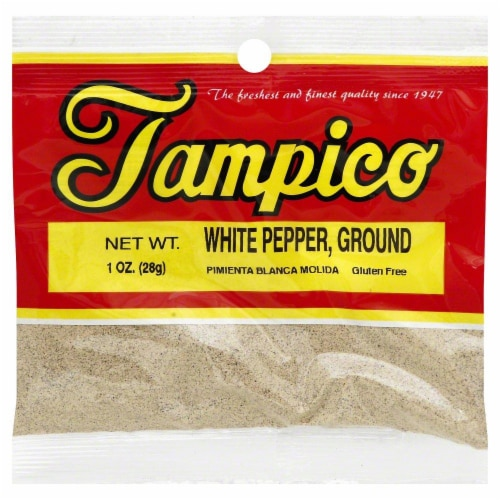 Tampico White Pepper Ground Perspective: front