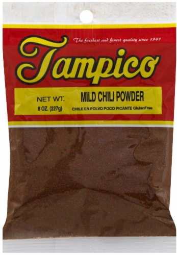 Tampico Mild Chili Powder Perspective: front