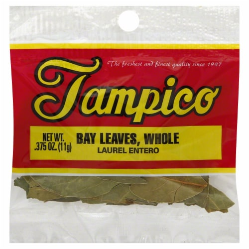 Tampico Bay Leaves Whole Perspective: front