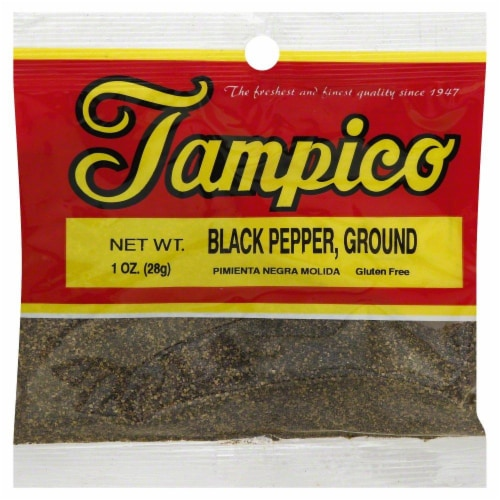 Tampico Black Pepper Ground Perspective: front