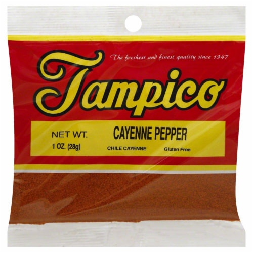 Tampico Cayenne Pepper Perspective: front