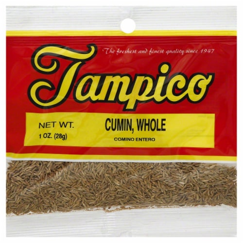 Tampico Cumin Whole Perspective: front