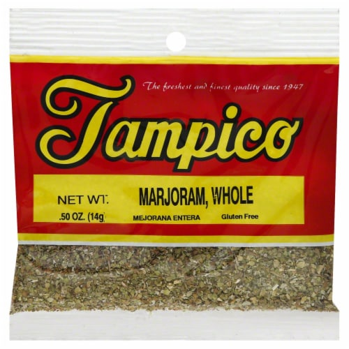 Tampico Marjoram Whole Perspective: front