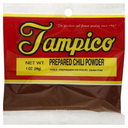 Tampico Prepared Chili Powder Perspective: front