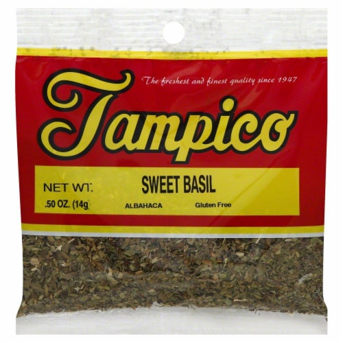Tampico Sweet Basil Perspective: front