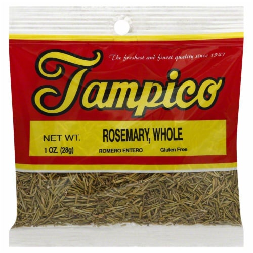 Tampico Rosemary Whole Perspective: front