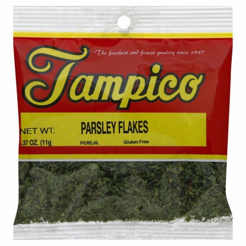 Tampico Parsley Flakes Perspective: front