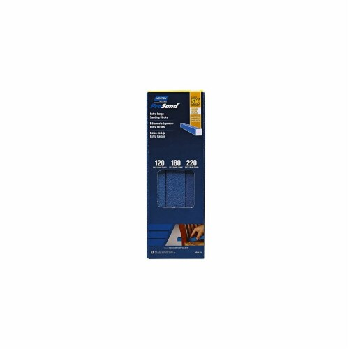 Norton ProSand Extra Large Sanding Sticks - Blue Perspective: front