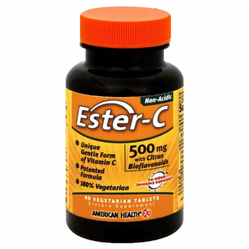 American Health Ester-C Vitamins 500 Mg Perspective: front