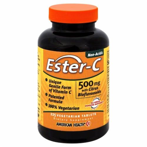 Ester-C Vegetaran Tablets Perspective: front