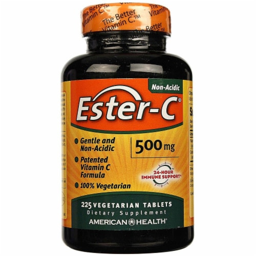American Health Ester-C Tablets 500 mg Perspective: front