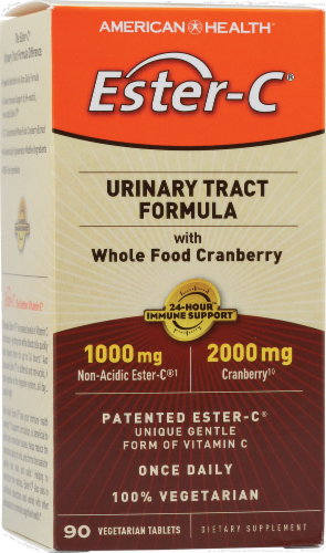 American Health Ester-C Urinary Tract Formula Perspective: front