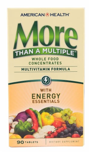 American Health More Than A Multiple Multivitamin Dietary Supplement Perspective: front