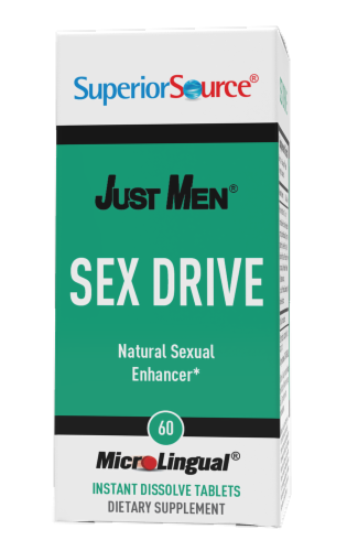 Superior Source Just Men Sex Drive Tablets Perspective: front