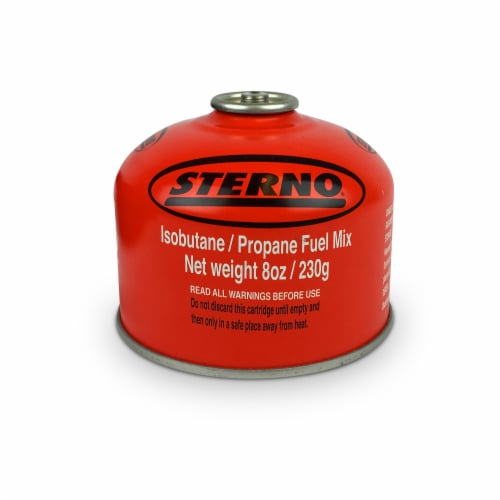 Sterno Isobutane/Propane Fuel Mix Perspective: front