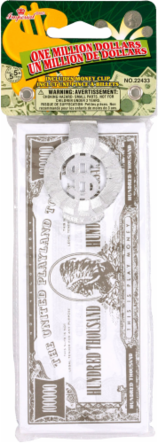 Imperial One Million Dollars Novelty Money Perspective: front