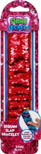 Imperial Toy Toy Shine Secrets Sequin Slap Bracelet - Assorted Perspective: front
